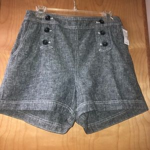Dressy high waisted shorts
